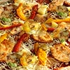 pizza chicken poulet